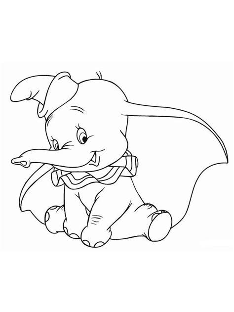 Gratis Malvorlagen Dumbo