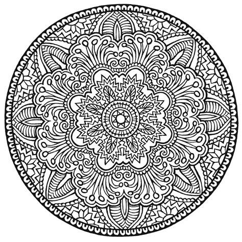 Gratis Malvorlagen Mandala Für Erwachsene