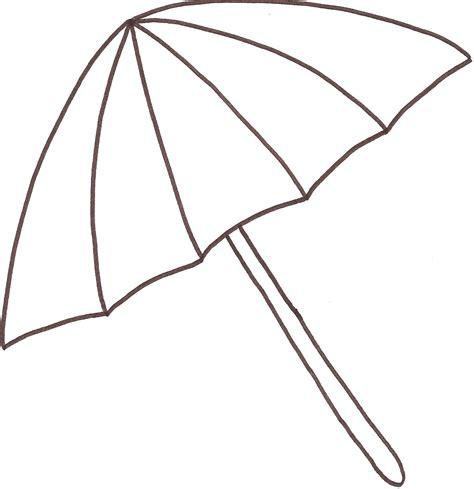 Gratis Malvorlagen Regenschirm Damen