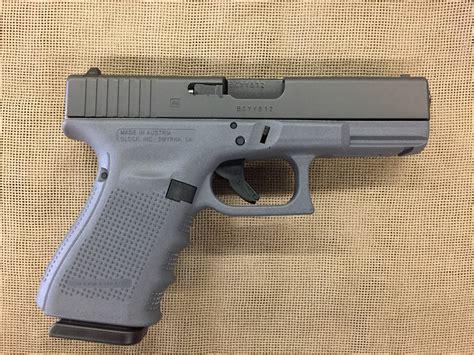 Gray Frame Glock 19