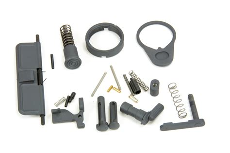 Gray Lower Parts Kit Ar15
