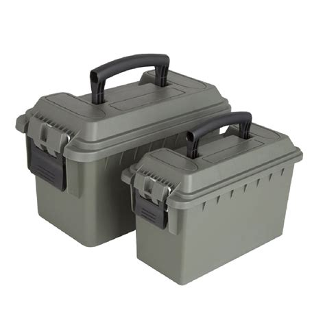 Green Plastic Ammo Box