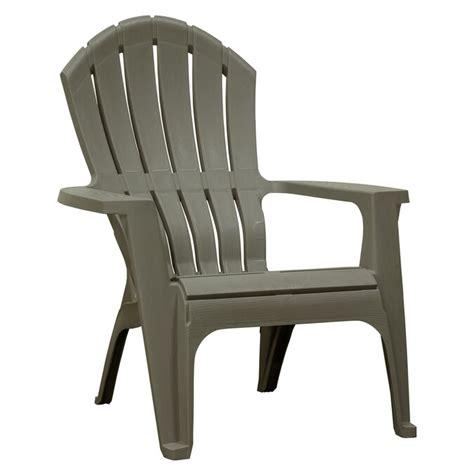 Grey plastic adirondack chairs Image