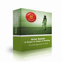 Grief relief audio program specials