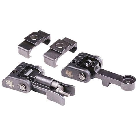 Griffin Armament Ar15 M2 Adjustable Sights Black Ar15 M2 Rear Sight Adjustable Black