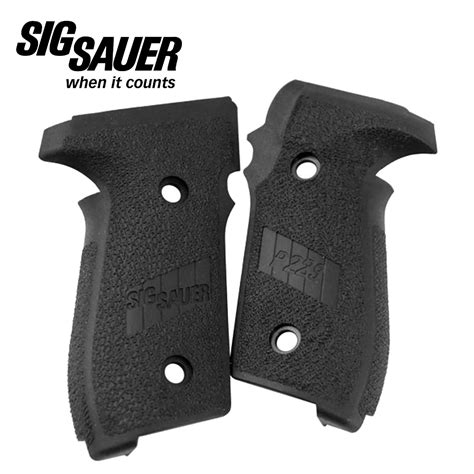 Grip Set P229 Black Polymer SIG SAUER - The Hungry Ear