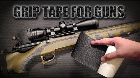 Grip Tape For Rifle Stocks