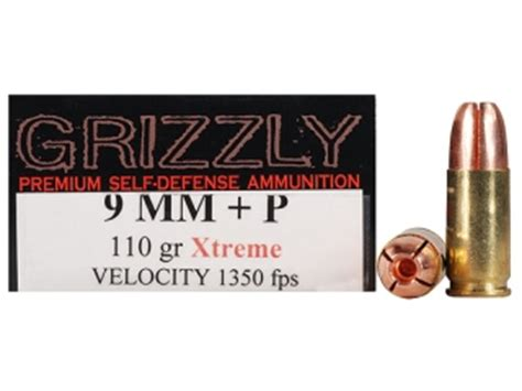 Grizzly Xtreme Ammo 9mm