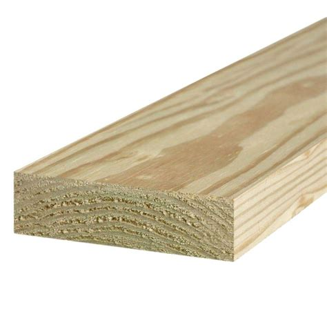 Ground contact pressure treated wood Image
