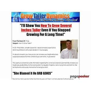 Grow taller dynamics? exposing the dynamics of growing taller fast! is it real?