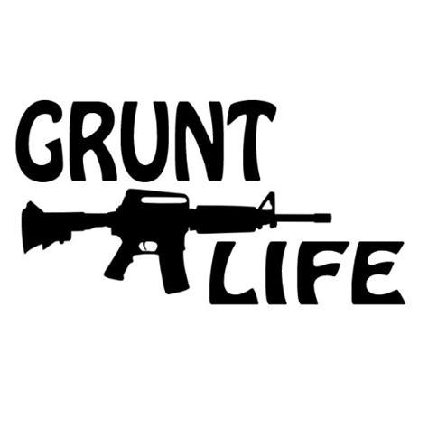 Grunt Decal