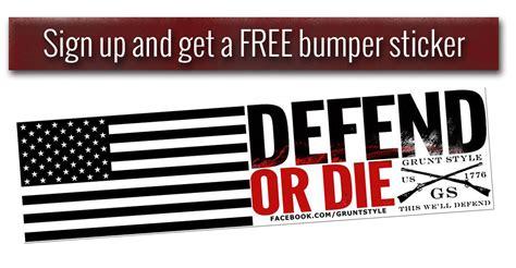 Grunt Style Bumper Sticker