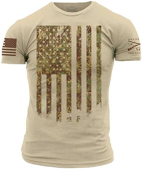 Grunt Style Camo Tshirts Camo Tshirt 2xl