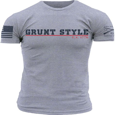 Grunt Style Collegiate Tshirts Collegiate Tshirt Lg