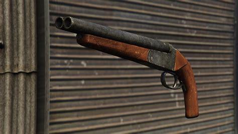Gta Online Double Barrel Shotgun