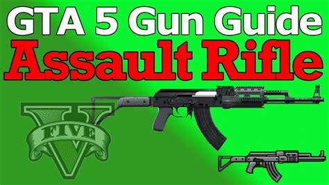 Gta 5 Online Assault Rifle Unlock