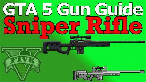 Gta 5 Online Sniper Rifle Unlock