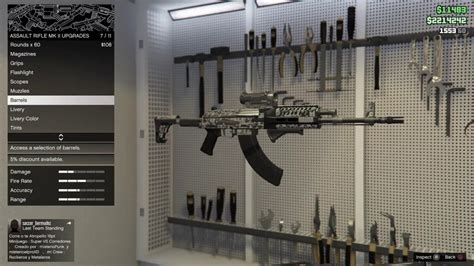 Gta 5 Heavy Assault Rifle