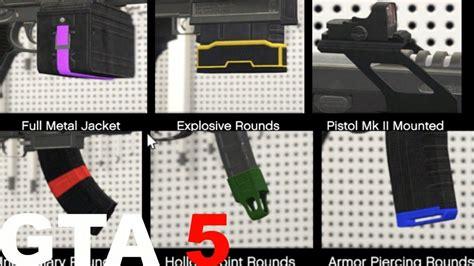 Gta V Best Ammo Type For Each Mk Gun