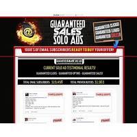 Guaranteed sales solo ads get 4000 clicks sales guaranteed bonus
