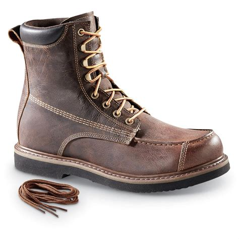 Guide Gear Men S Uplander Waterproof Lace Up Hunting Boots