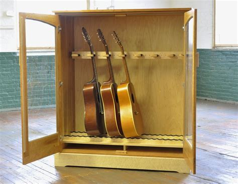Guitar storage cabinet plans Image