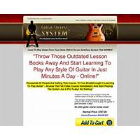 Guitar success system the only guitar course you'll ever need! promo