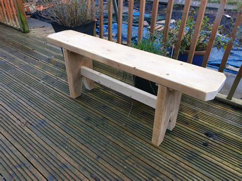 Gumtree wooden bench Image