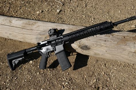 Gun Review Adams Arms Tactical Evo Rifle The Truth And Midwest Industries 3gm Series Free Float Gen 3 Mlok