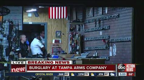 Gun Store Robbery In Tampa