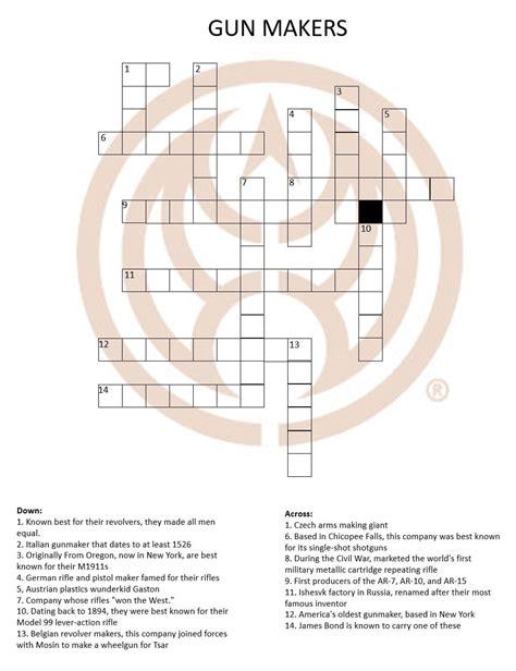 Gun Accessory Crossword Clue