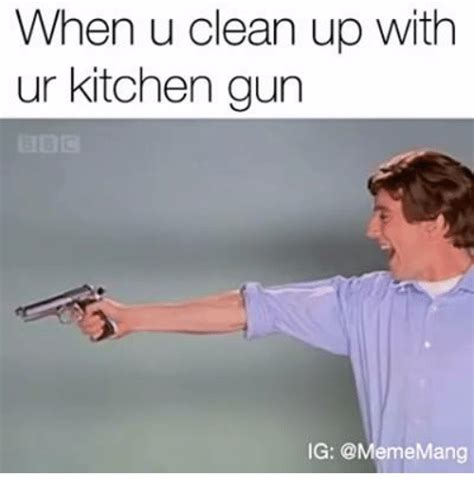 Gun Clean Kitchen