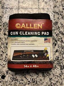 Gun Cleaning Pad Ebay