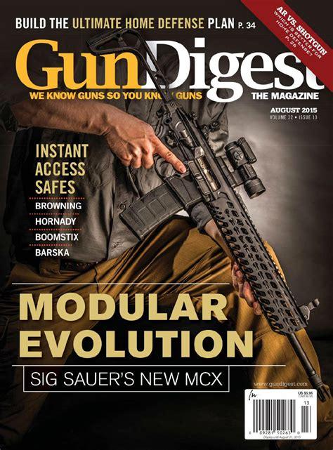 Gun Digest August 2015 Usa By Sensei Issuu