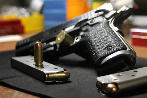 Gun Gear Test Recover Tactical 1911 Grip And Rail System