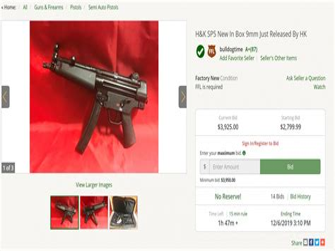 Gunbroker H K Mp5