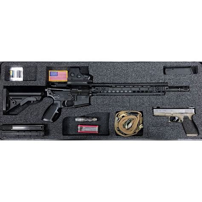 Gunformz Ar15 Pelican Storm 3200 Gun Case Foam Inserts Ar15 Pelican Storm 3200 Bottom Layer Foam V2