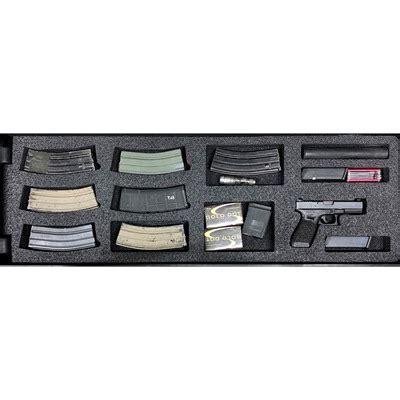 Gunformz Ar15 Pelican Storm 3200 Gun Case Foam Inserts Ar15 Pelican Storm 3200 Top Layer Foam V3