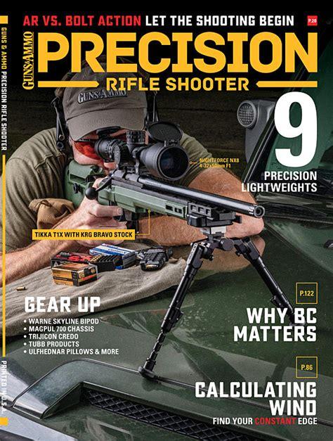 Guns Ammo Precision Rifle Shooter Magazine