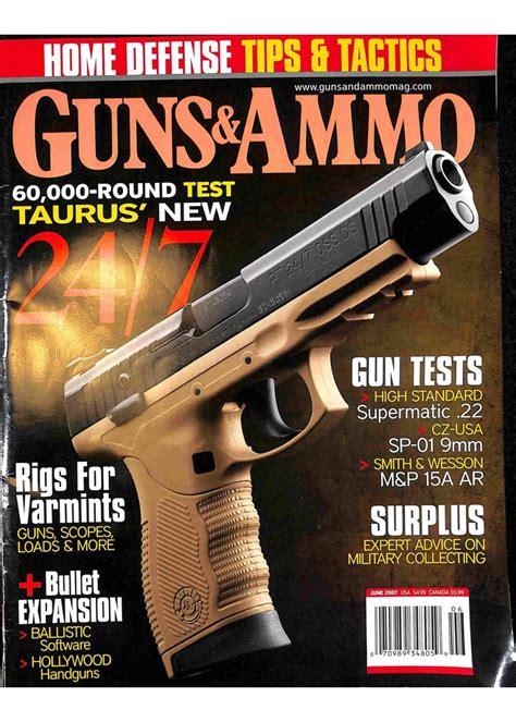 Guns Snd Ammo Magazine