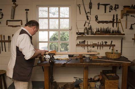Gunsmith Building Colonial Williamsburg