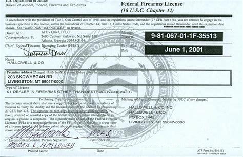Gunsmith Certification With Ffl License