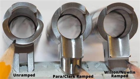Gunsmith Cut Feed Ramps Into Barrel