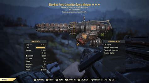 Gunsmith Fallout 76 Reddit