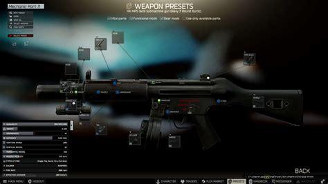 Gunsmith Part 3 Escape From Tarkov