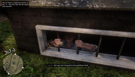 Gunsmith Rhodes Man In Basement Red Dead