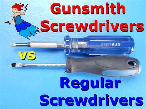 Gunsmith Screwdrivers Vs