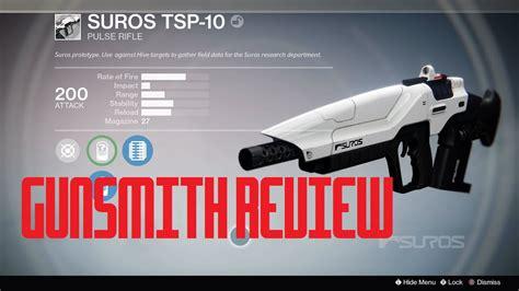 Gunsmith Suros Tsr10