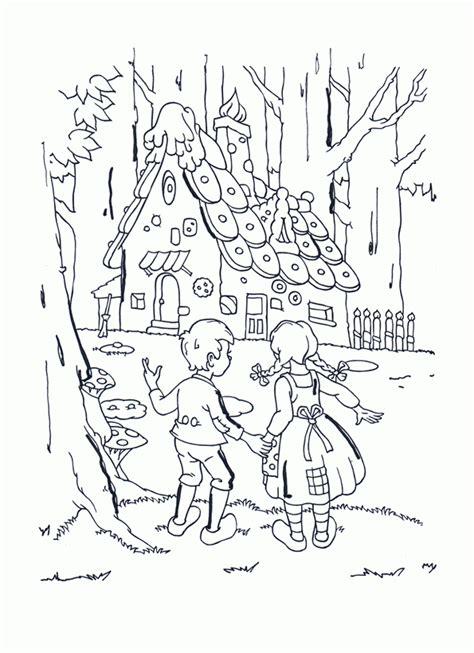 Hänsel Und Gretel Malvorlagen Kostenlos