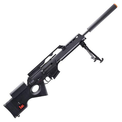 H K Full Size Sl9 Airsoft Aeg Sniper Rifle By Umarex